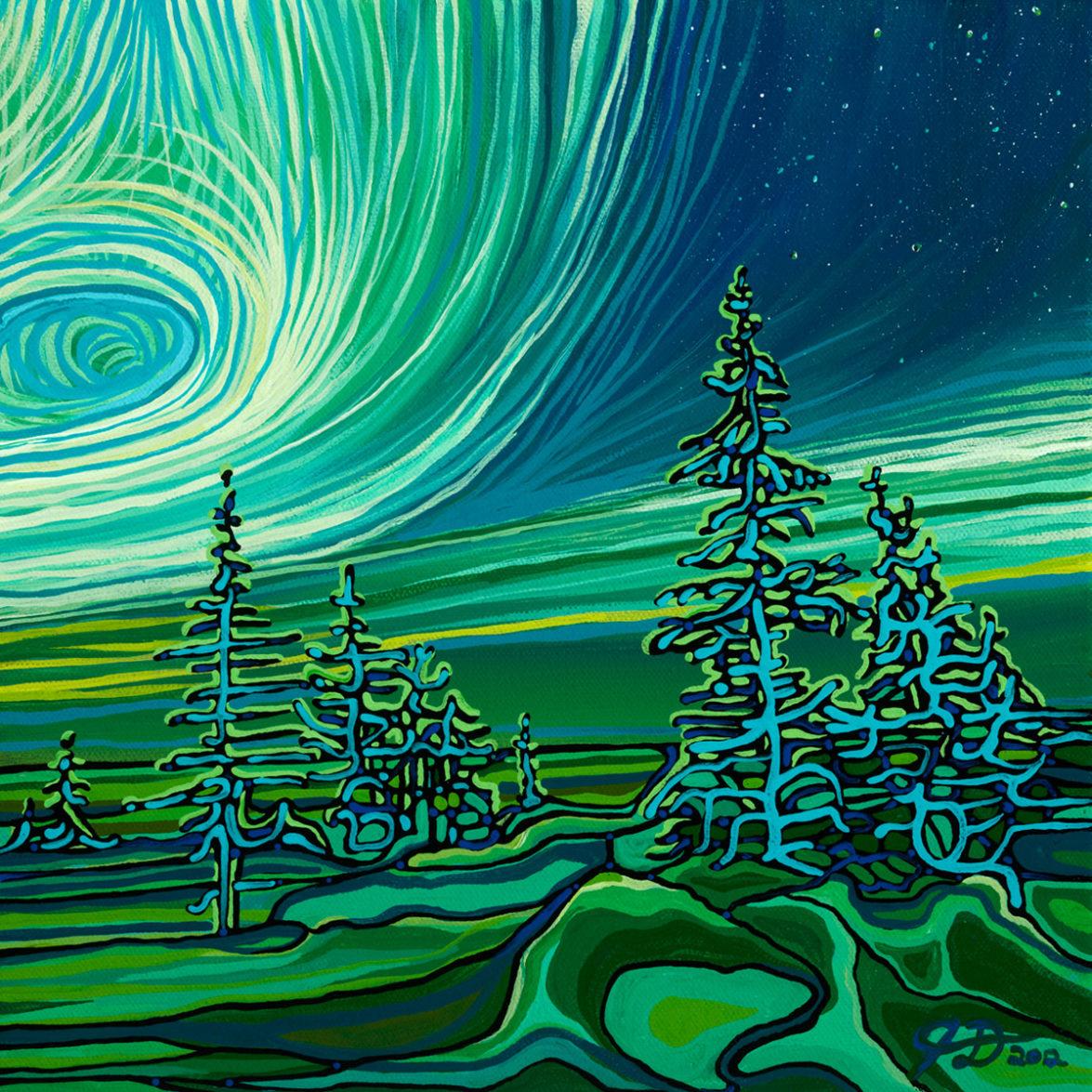 55 Aurora Borealis p