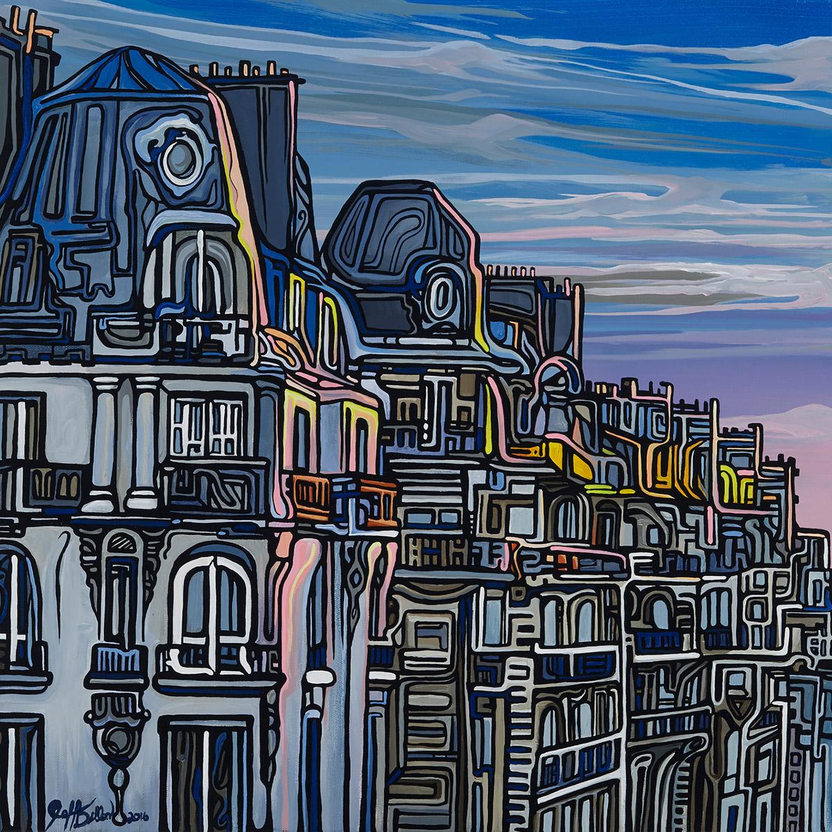 91 Sun Touched Paris p