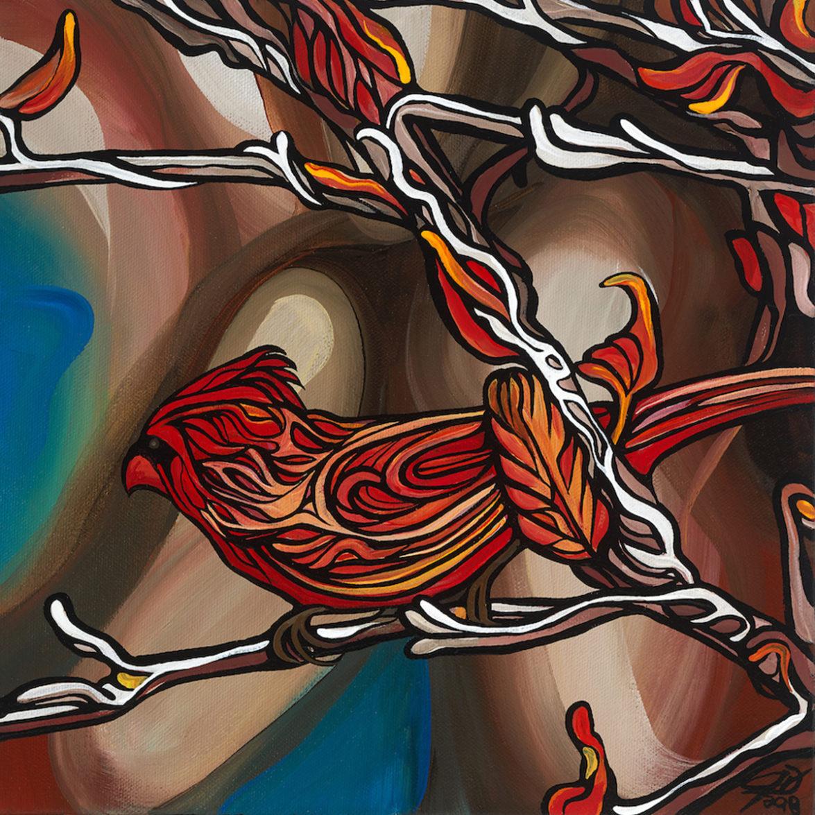 139 red bird p