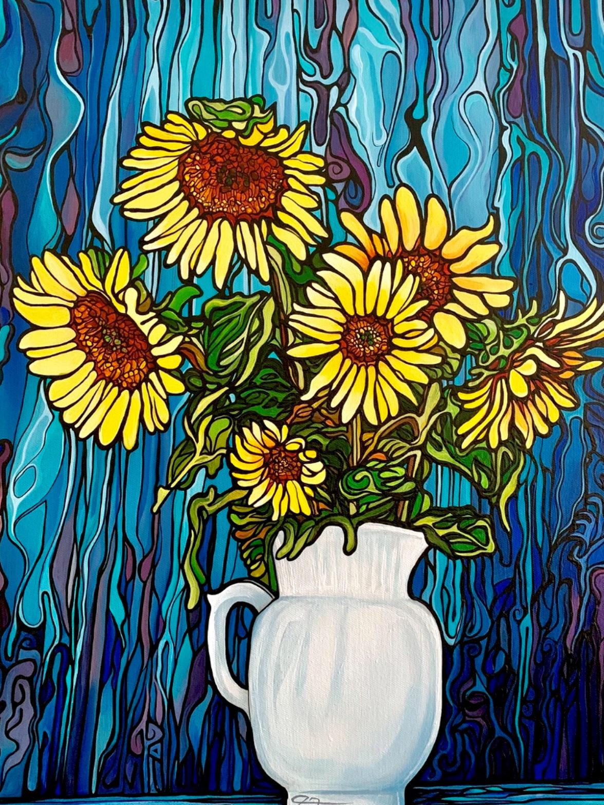 160 Sunflowers p